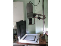 MPP Enlarger with ease, condensors, safe light and stainless steel developing tank