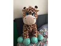 Jumbo Giraffe plush soft toy