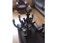 Brand new black chanderler never been used selling as I don't have a clue how to install it