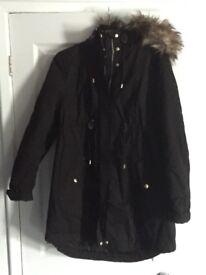 Black coat (maternity)