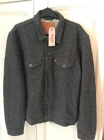 Mens Levis jacket brand new rrp £80 size: large