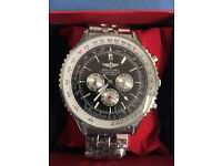 Breitling Navitimer Watch Black/ Automatic Movement / Postage Available