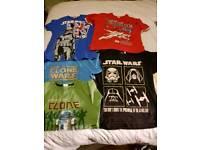Star wars bundle of tshirts