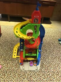 Fisher Price Little people sit to stand garage