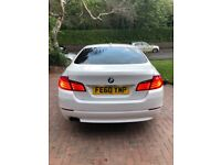 BMW 520d White. Fully loaded.