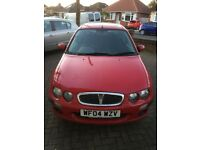 Rover 25. Low mileage. £450 Ono