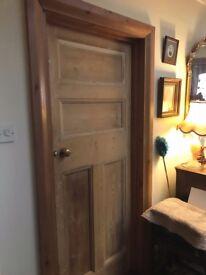 PINE ANTIQUE STRIPPED PANEL DOORS