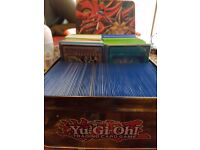 HUGE Yugioh Collection! 100's of cards! Gold rares, super rares and more!