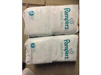 Pampers Nappiee - size 3 (52x 2)