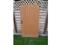 Wooden Garden gate, very sturdy, with bolt and latch