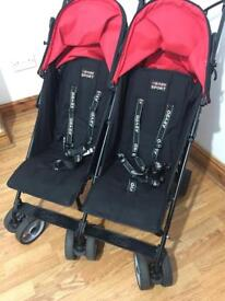 Obaby double side by side pushchair