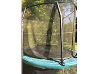 Trampoline - Jumpking oval shaped 12ft x 9ft - £50
