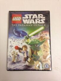 Star Wars Lego The Padawan Menace DVD