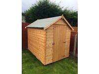 7 x 5 Standard Apex Shed ( new )
