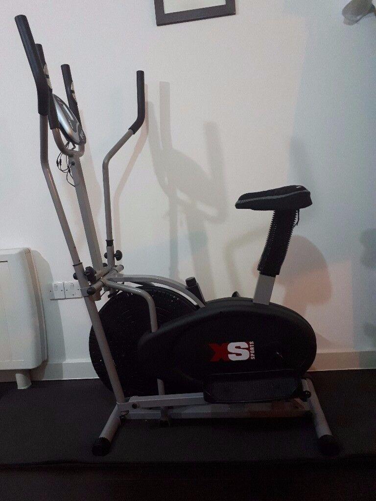 Elliptical Cross Trainer Exercise Bike Combo for sale (Hardly Used)