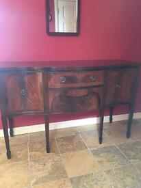 Beautiful wooden sideboard