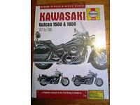 Brand new still sealed Haynes 4913 manual for Kawasaki Vulcan from 1987 until 2008 (Bath)