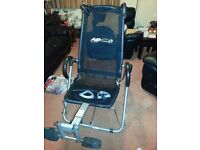 AB lounger XL exercise chair.