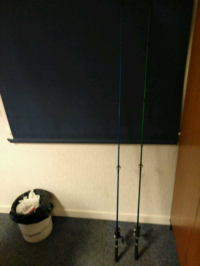2 x fishing rods unused (£20 for Pair)