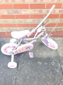 Child's bike under 4 years with stabilisers