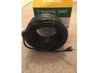Cat 6 30m Ethernet cable, brand new!