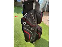 Motocaddy lite cart/trolley golf bag. Excellent condition