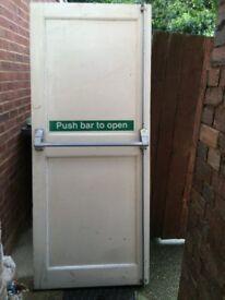 havey door used