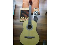 Jose Ferrer Classical Guitar in very good condition complete with case .