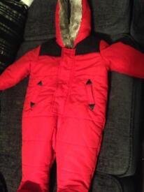 Baby coat/snowsuit 3-6 months
