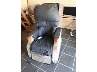 Electric Reclining and push up chair
