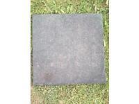 22 soft floor playground tiles / flags / garden