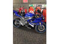 2008 Blue Yamaha R1