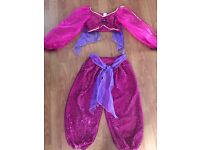 Princess jasmine dress up costume 7-8 years