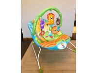 Fisher Price musical Bouncer Chair