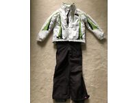 Girls ski jacket and trousers age 9 - 10