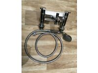 Chrome Mixer Tap with Shower Attachment
