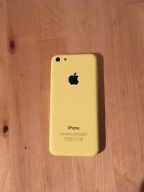 iPhone 5c 8gb yellow Vodafone