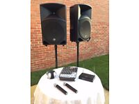 Audio Hire, Speaker Hire, Parties ,Disco's,Wedding's Hire, Any Equipment Available to Hire