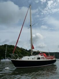 sailing boat for sale. Westerly Centaur