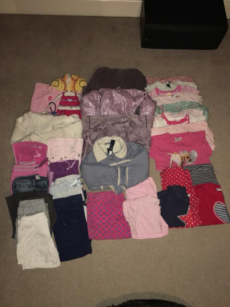 Girls clothes/coats age 6to 8