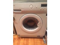 Washer Dryer for fitted kitchens