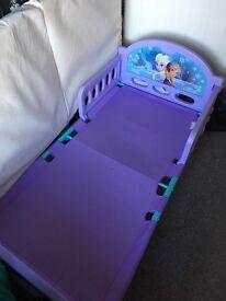 Frozen toddler bed