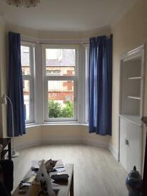 Immaculate spacious one bedroom flat with great views