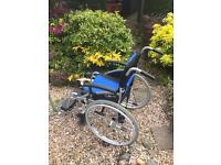 Lite Pro Lightweight self propelled wheelchair.