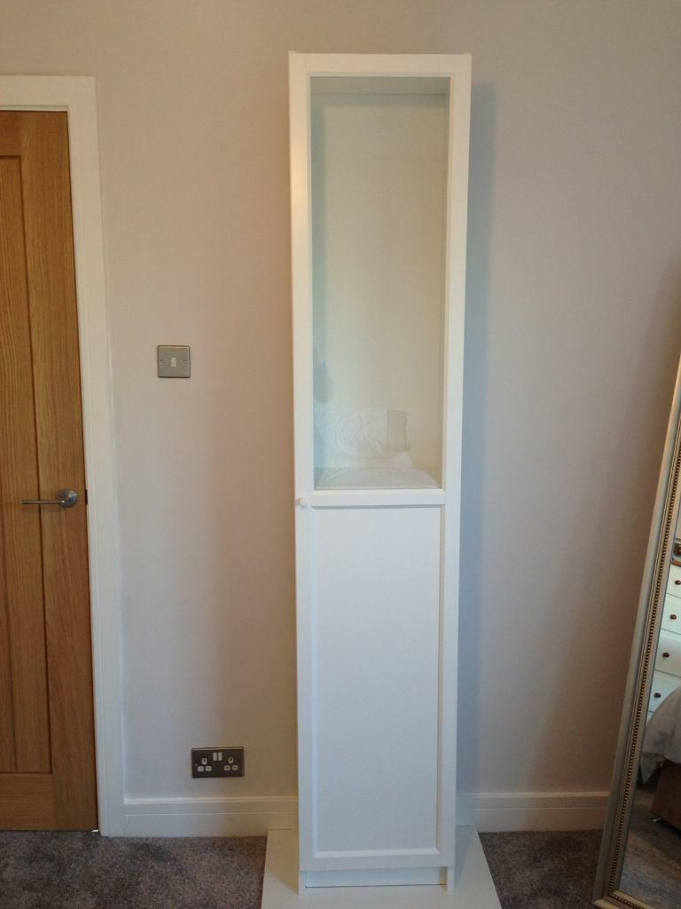 ikea billy bookcase oxberg door white in north anston south yorkshire gumtree. Black Bedroom Furniture Sets. Home Design Ideas