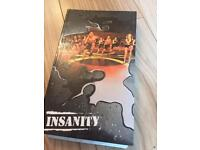 Insanity workout DVD's