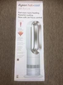 Brand new boxed Dyson AM09 hot and cool fan