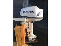 5HP HONDA OUTBOARD BOAT ENGINE 2004 FOUR STROKE