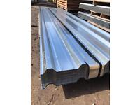 🛠 50 X 3M BOX PROFILE GALVANISED ROOF SHEETS