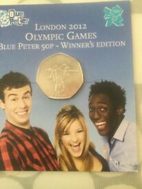 Olympics 2012 Blue Peter 50 Pence